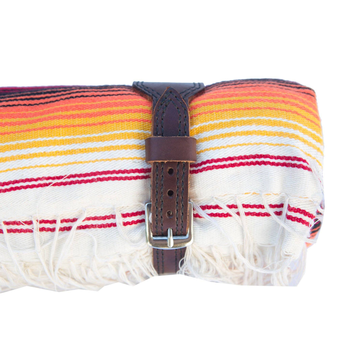 Vintage Serape Blanket with Custom made harness - Vintage - Iron and Resin