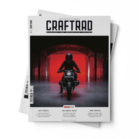 CRAFTRAD MAGAZINE - INTERNATIONAL ISSUE No. 1 - Home Essentials - Iron and Resin