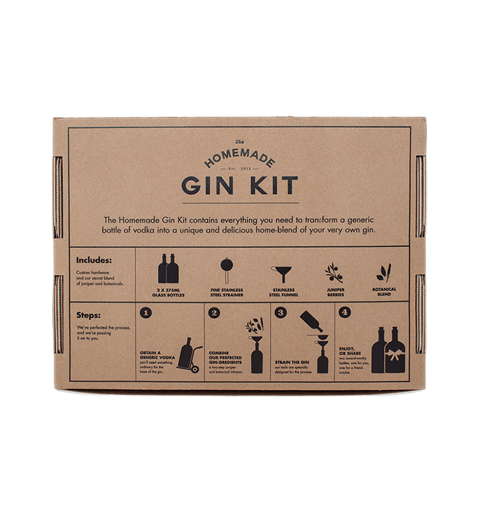 The Homemade Gin Kit - Kitchenware - Iron and Resin