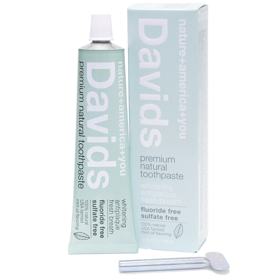 Davids Natural Toothpaste - Grooming - Iron and Resin