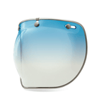 Bell 3 Snap Bubble Delux Shield - Moto: Bubble Shields - Iron and Resin