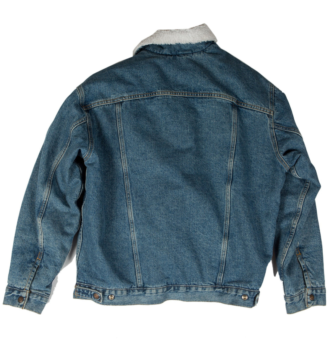 Vintage Levis Sherpa Denim Trucker Jacket - Vintage - Iron and Resin