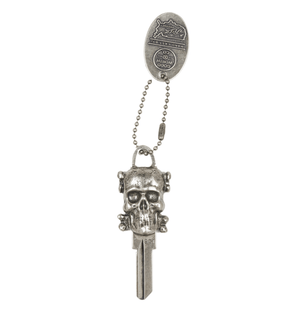 Good Worth Skull Keychain - Accessories: Keychains - Iron and Resin