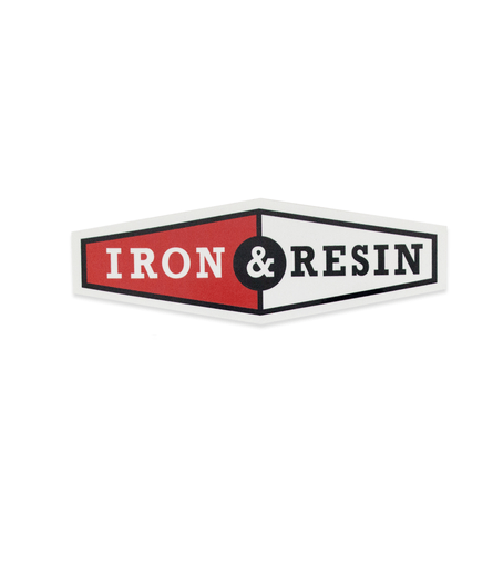 Iron & Resin Two Tone Sticker - Accessories: Stickers - Iron and Resin