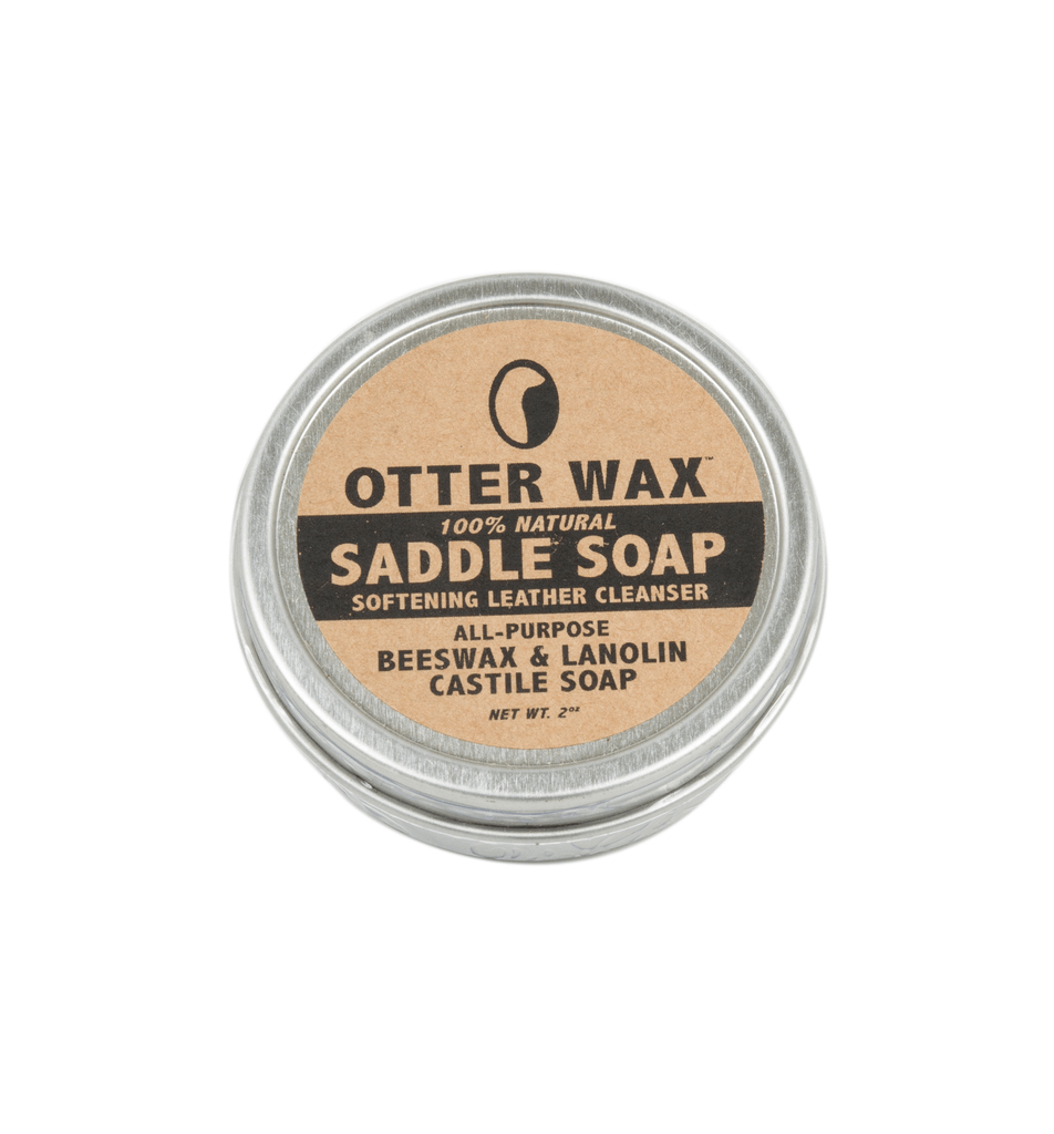 Otter Wax Saddle Soap - Small - Footwear Essentials - Iron and Resin