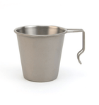Snow Peak Titanium Single Cup No.2 - Camping - Iron and Resin