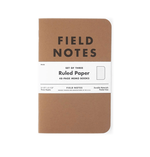 Field Notes Notebooks: Ruled