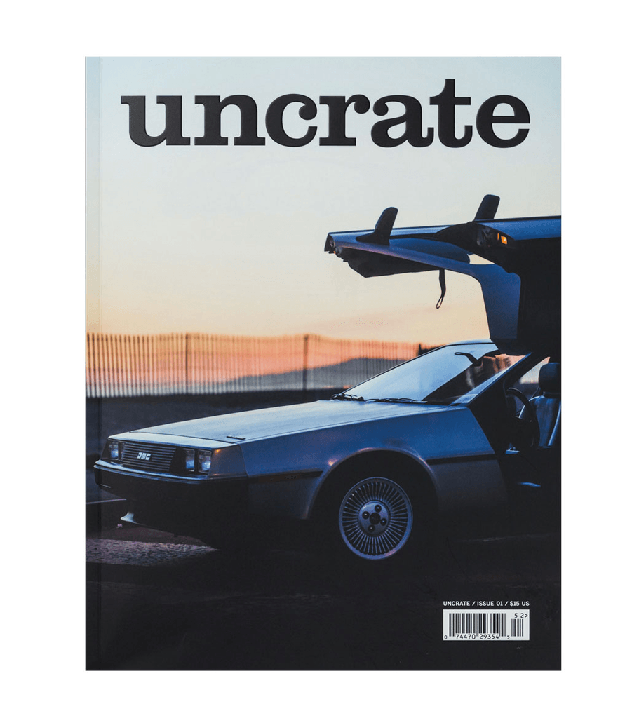 Uncrate- Issue 01 - Accessories: Magazines - Iron and Resin