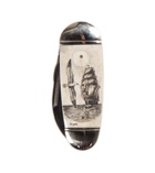 Scrimshaw Pocket Knife
