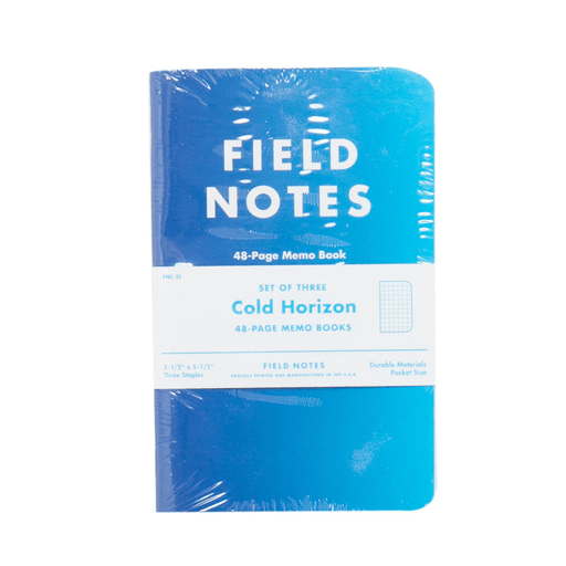 FIeld Notes Cold Horizon - Accessories: Journals - Iron and Resin