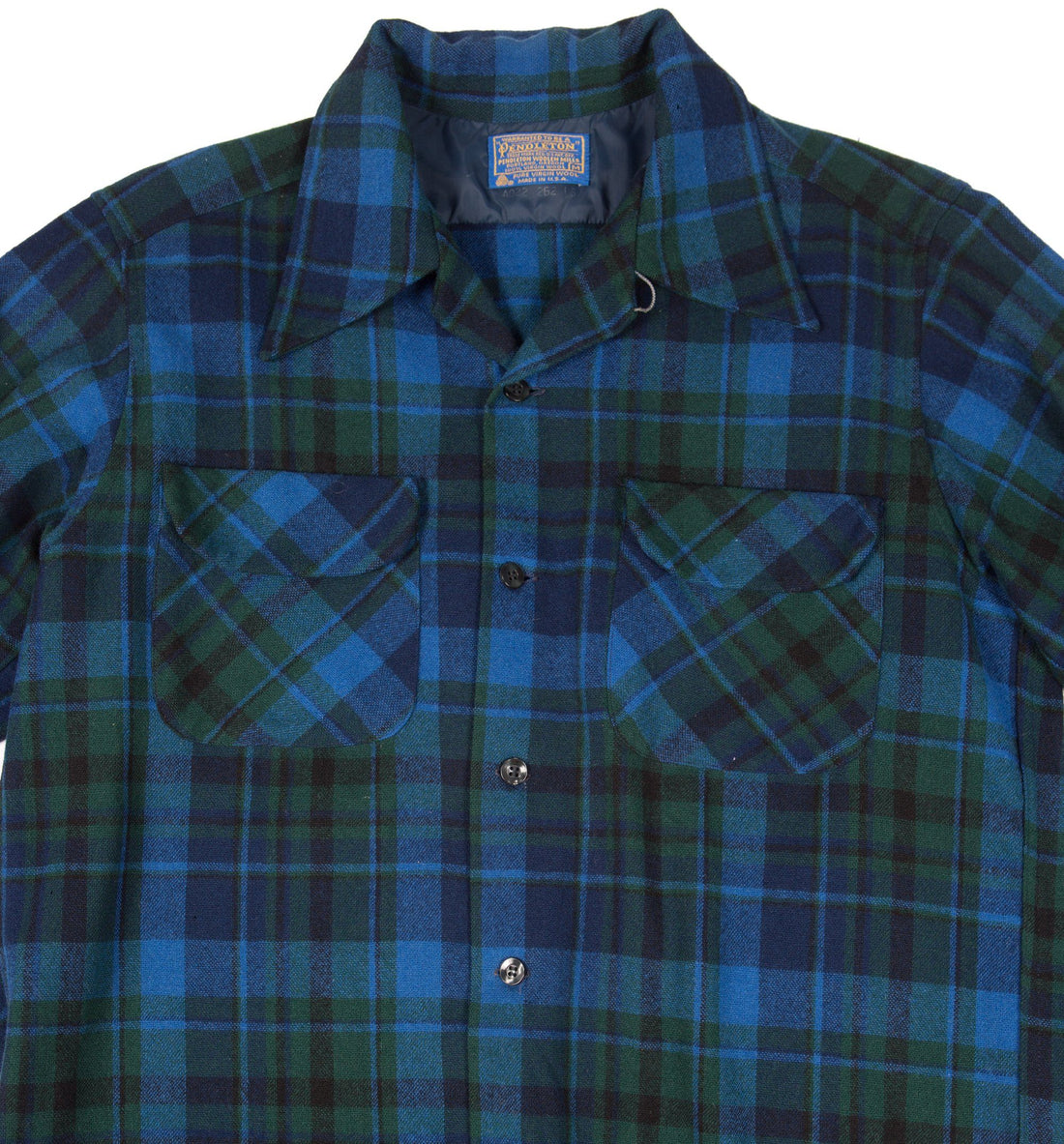 Vintage 70's Pendleton Button up Flannel - Vintage - Iron and Resin