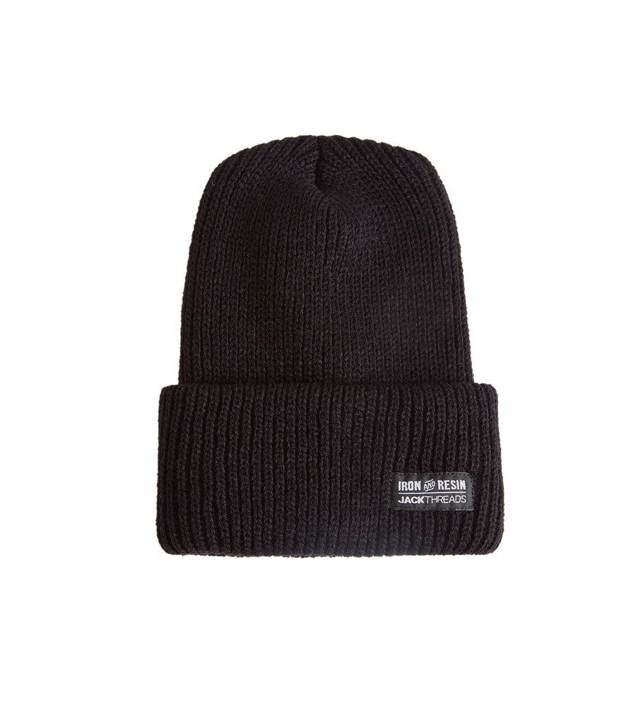 INR x Jackthreads Union Beanie - Accessories: Headwear: Beanie - Iron and Resin