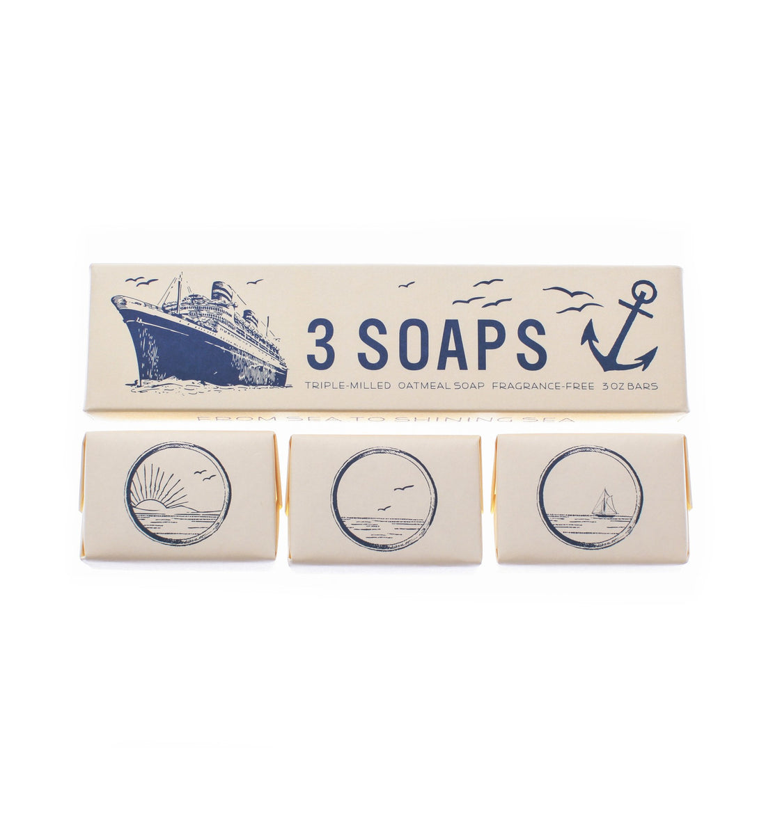 Izola Maritime Soap Set - Grooming: Skin - Iron and Resin