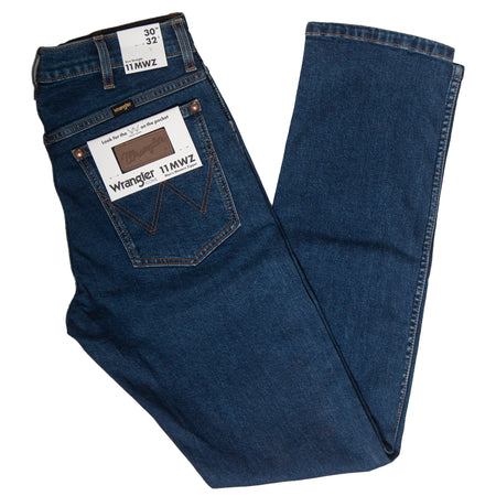 Men's Wrangler Western Zipper Denim Jeans - Bottoms - Iron and Resin