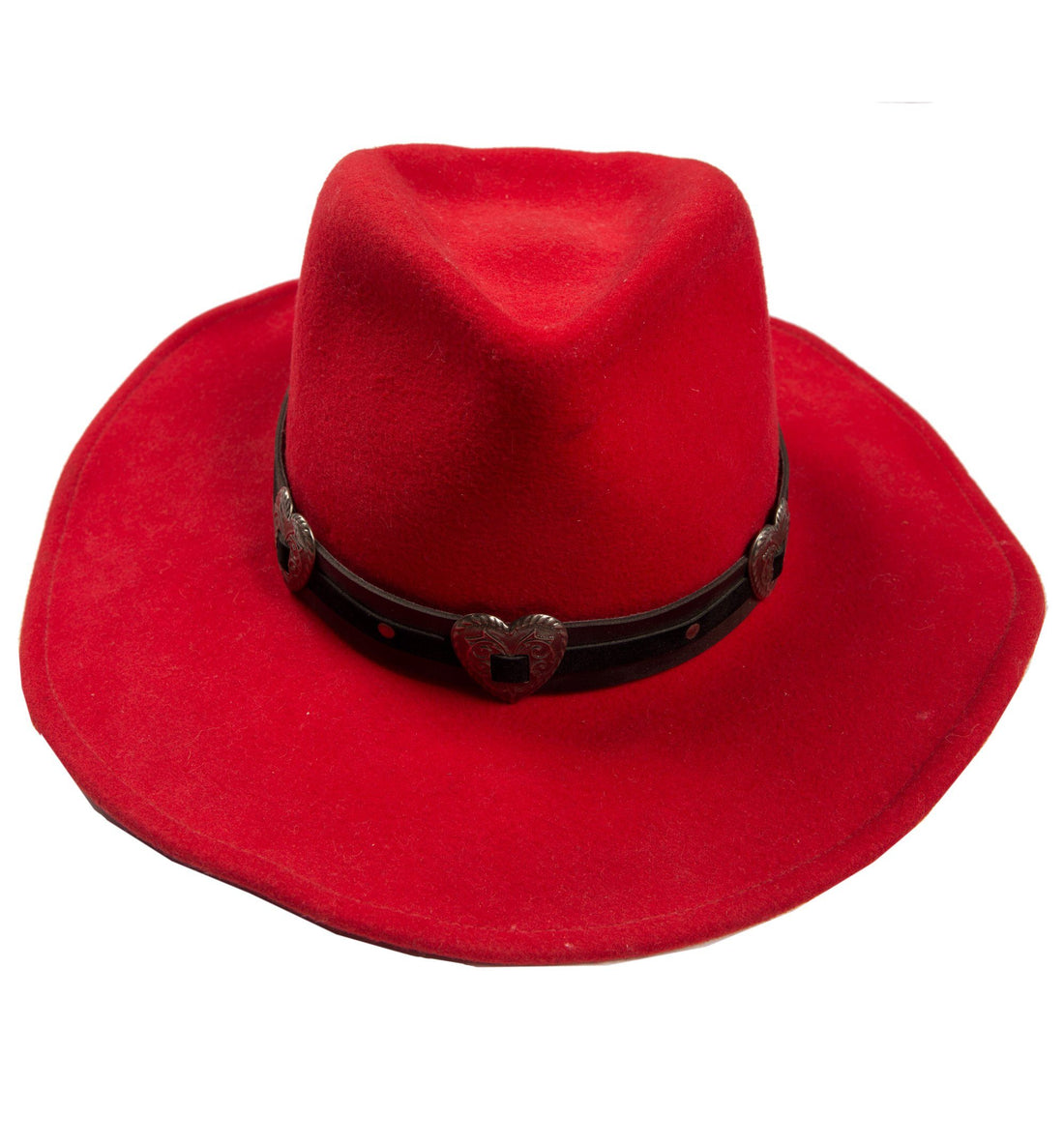 Vintage Red Wrangler Hat - Vintage - Iron and Resin