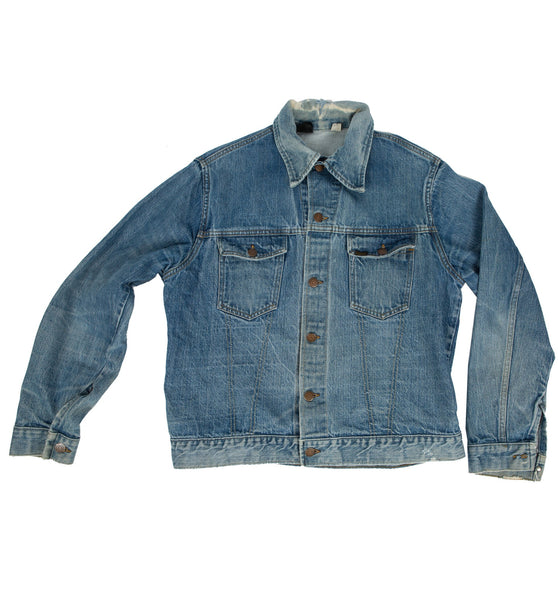 Vintage Sears Roebuck Denim Jacket, Size 44