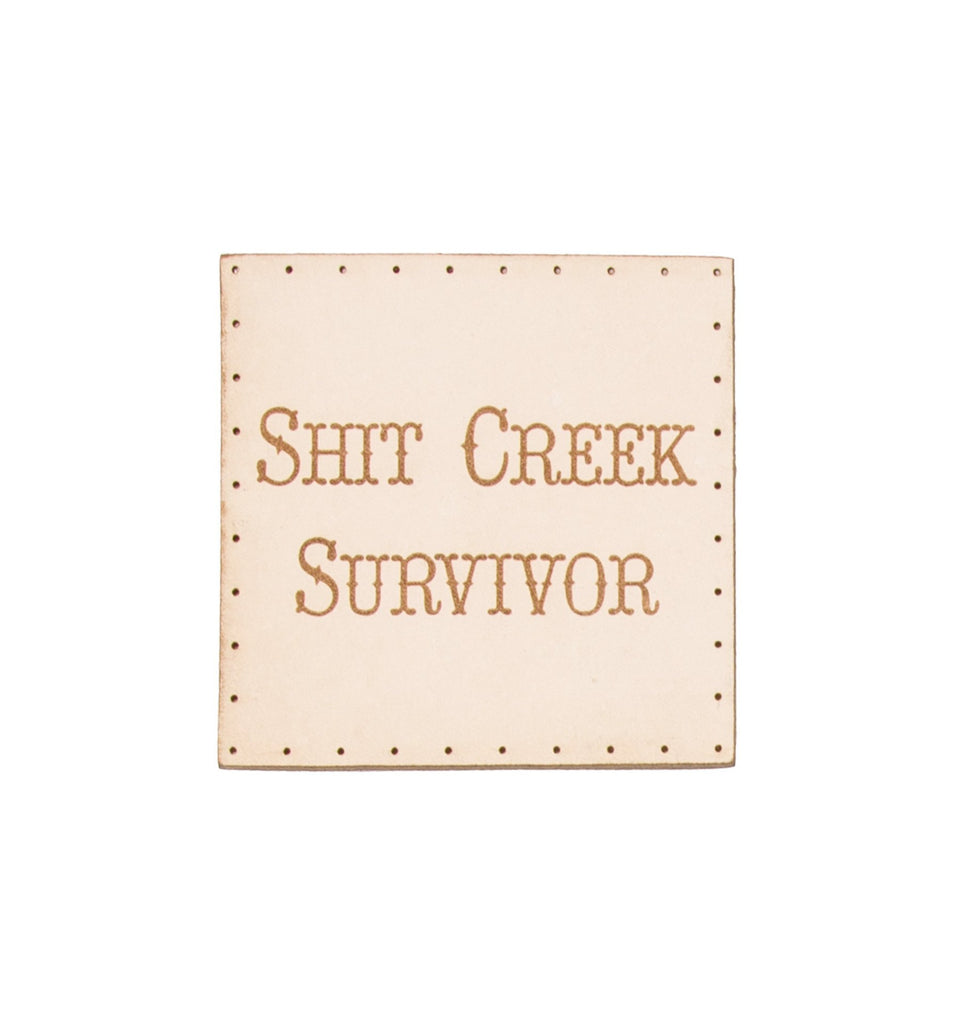 Shit Creek Survivor Patch
