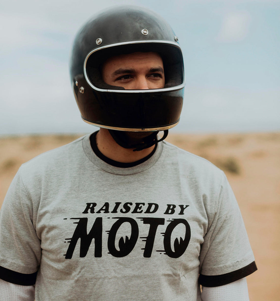 Raised By Moto Tee - Tops - Iron and Resin
