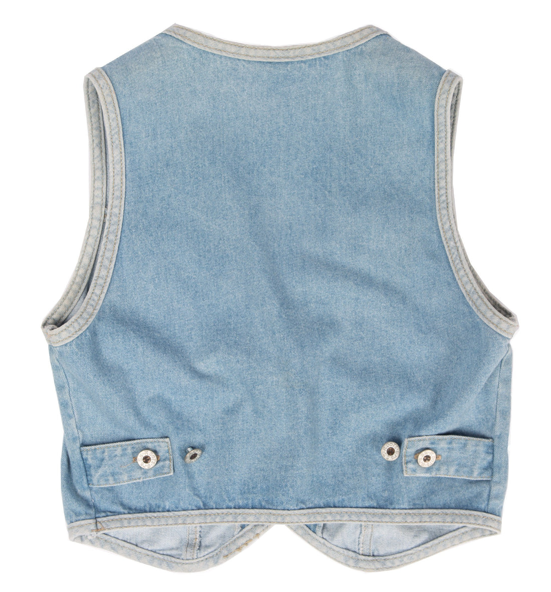 Vintage Denim Vest, S - Vintage - Iron and Resin