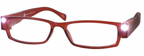 Lighted Reading Glasses Full Frame Unisex - Model A