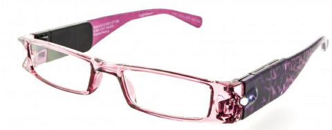 Lighted Reading Glasses Full Frame Womens
