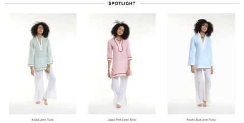 Linen Tunics Featured in O Mag