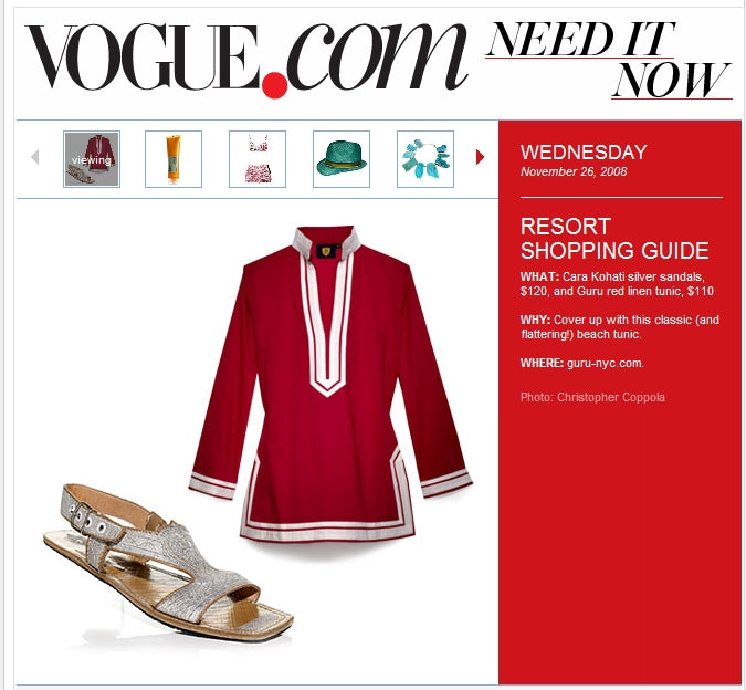 Vogue.com Resort Line Must Have