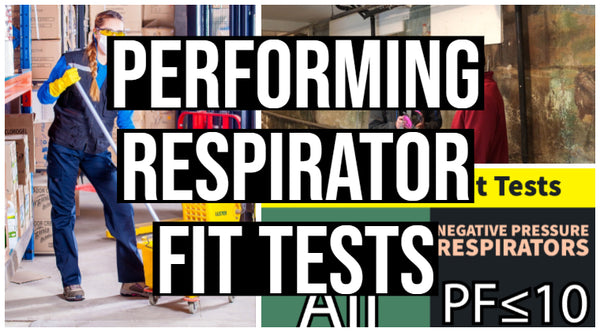 New Online Course - Performing Respirator Fit Tests
