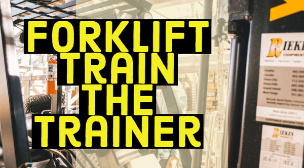 Online Forklift Train The Trainer Course Now Available!