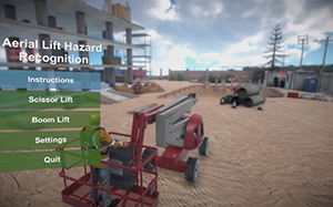 NIOSH Releases Aerial Lift Hazard Recognition Simulator