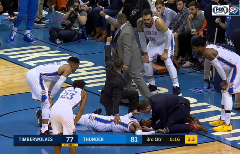 Oklahoma City Thunder Activate Their Catastrophic Injury Emergency Action Plan