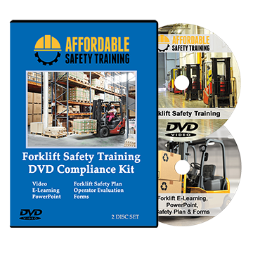 Forklift Operator Safety Training DVD