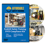 Forklift Operator Training DVD Compliance Kit