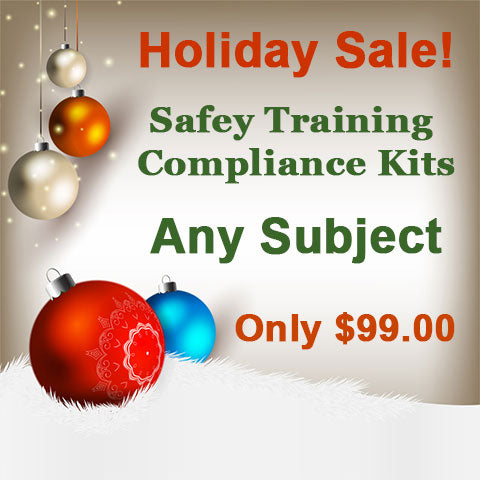 Safety Compliance Kit Holiday Sale