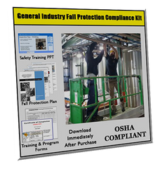 Fall Protection in General Industry Compliance Kit