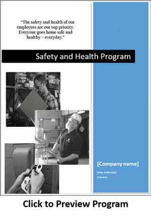 Click To Preview Safety Plan