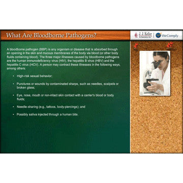 Bloodborne Pathogens and MSRA Online Course
