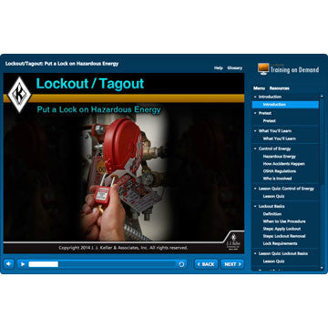 Lockout Tagout Online Training