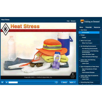 Heat Stress Online Course