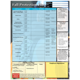 OSHA Site Fall Protection Plan Poster