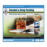 Alcohol & Drug Testing: What Drivers Need to Know Online Course