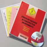 Struck-By Hazards in Construction Environments Safety DVD
