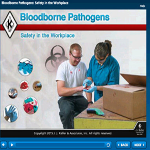 Blood borne Pathogens: Safety in the Workplace Online Training