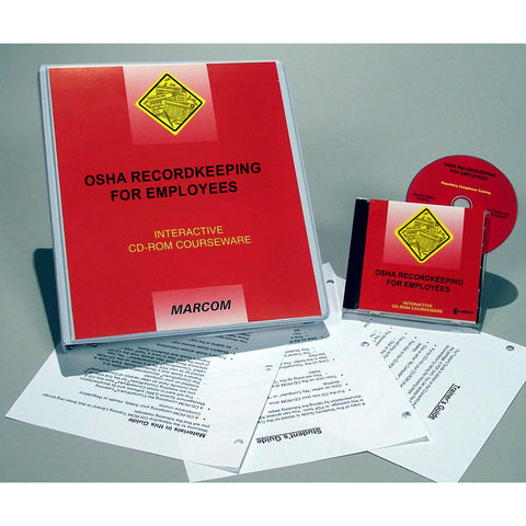 OSHA Recordkeeping for Employees DVD