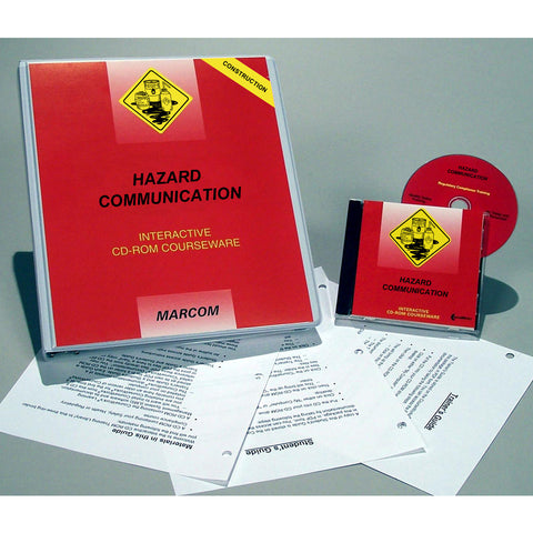 Hazard Communication in Construction Environments DVD