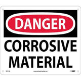 Corrosive Material Danger Sign