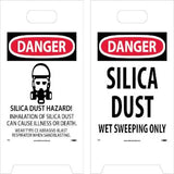 Danger - Silica Dust Floor Sign