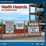 Health Hazards for Construction Online Training