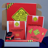 OSHA Recordkeeping for Employees DVD & Printed Materials