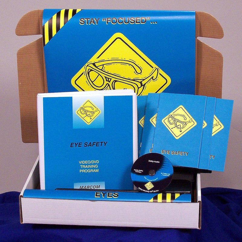 Eye Safety DVD & Printed Materials
